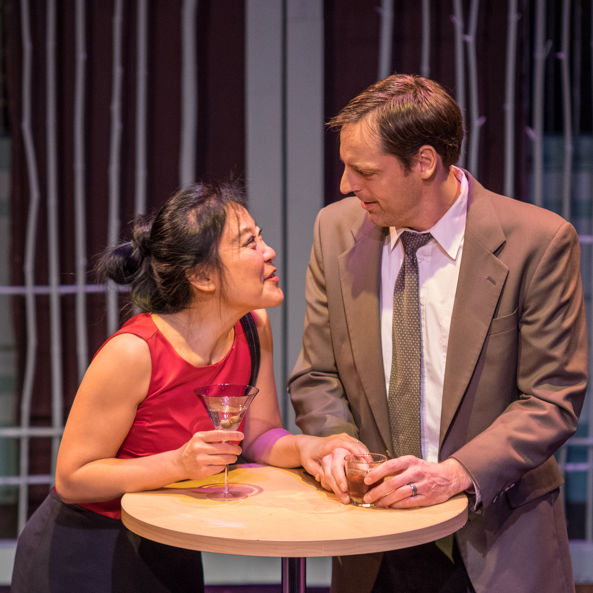 Kathy Hsieh (Xi Yan) and Evan Whitfield (Daniel)