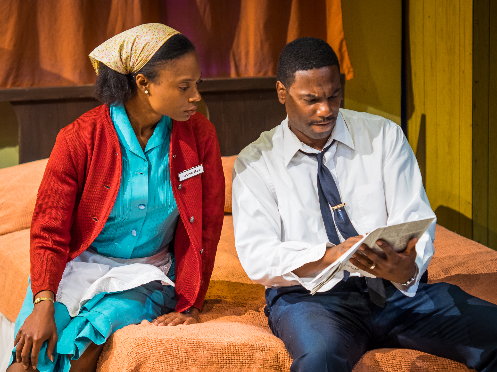 Camae (brianne a. hill) and Dr. King (Reginald André Jackson)