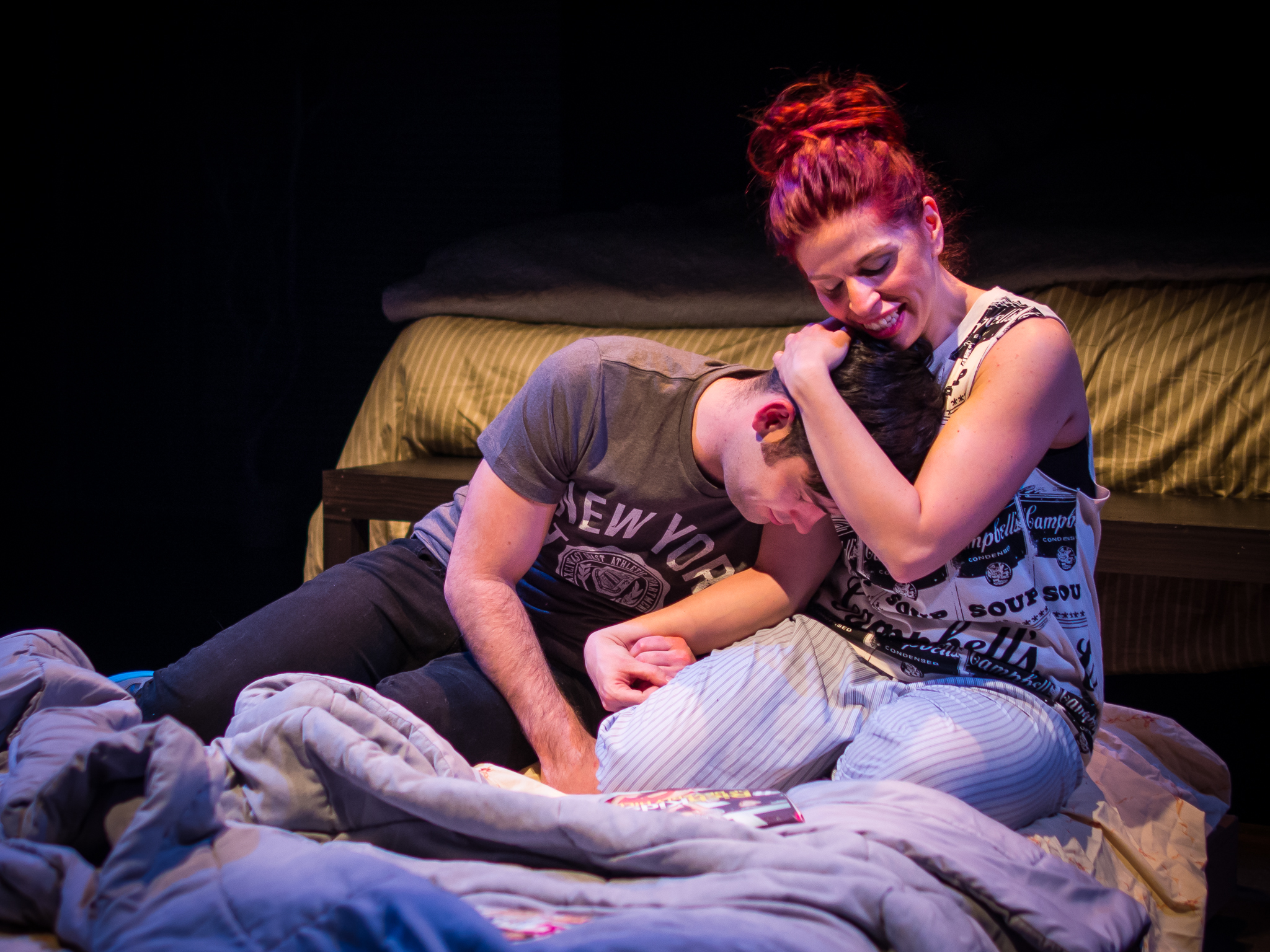 Alex (Jeff Orton) and Ellen (EmilyRose Frasca)