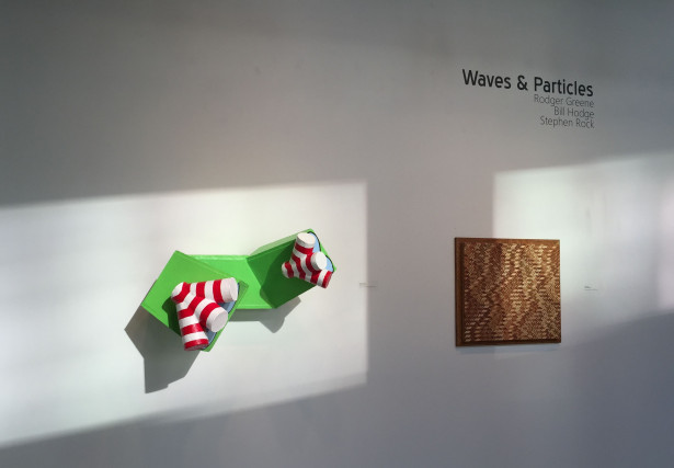 Waves & Particles; installation view: Rodger Greene, Bill Hodge