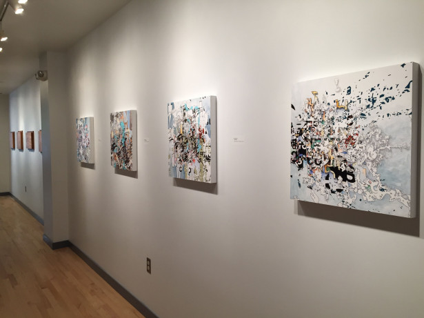 Waves & Particles; installation view: Stephen Rock