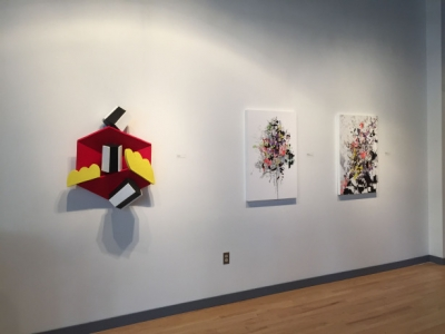 Waves & Particles; installation view: Rodger Greene, Stephen Rock