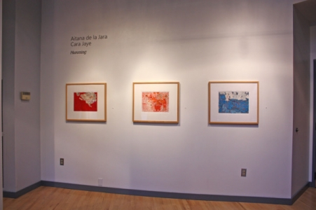 Humming, installation view: Cara Jaye