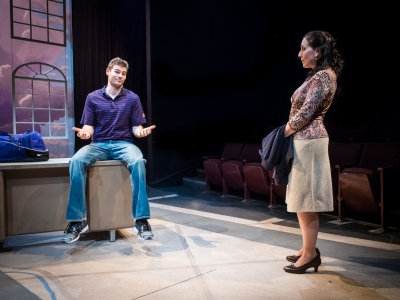 Third (Mark Tyler Miller) and Laurie Jameson (Marty Mukhalian)